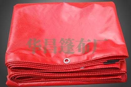 红色刀刮篷布