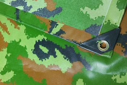 PVC涂层防水迷彩篷布
